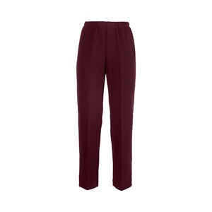 Comfortabele warme broek  bordeaux 1