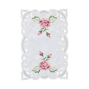 Sets de table « Roses », lot de 2