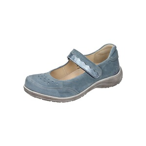 CUSHY  Damen Slipper  blau