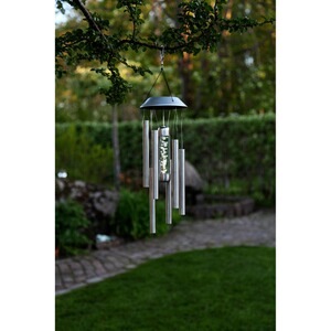 LED-Solar-Windspiel, 2er-Set