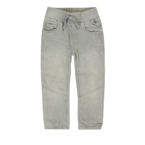 BELLYBUTTON  Jeanshose Tunnelzug Used Look, bis Gr. 128  mid grey denim