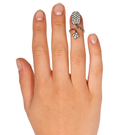 "Fingerring ""2 in 1"" 2"