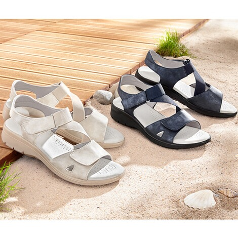 "wonderWALKComfortsandalen ""Flexi""  marineblauw 5"