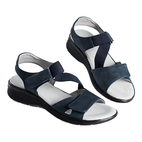 "wonderWALKComfortsandalen ""Flexi""  marineblauw 1"