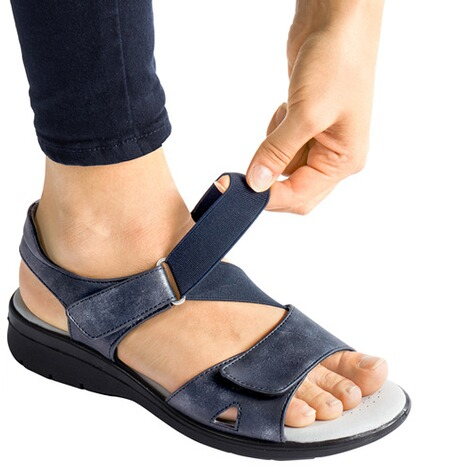 "wonderWALKComfortsandalen ""Flexi""  marineblauw 2"