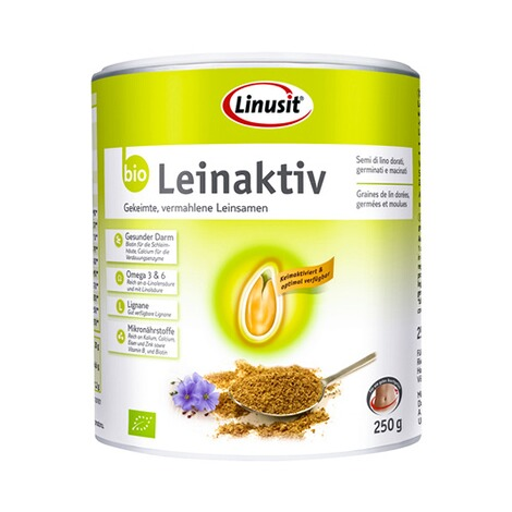 LinusitLinusit Leinaktiv bio, 250g 1