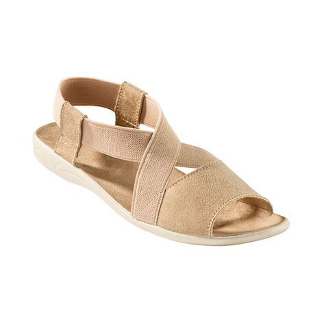 "Damen-Sandale ""Stretch Plus""  beige 1"