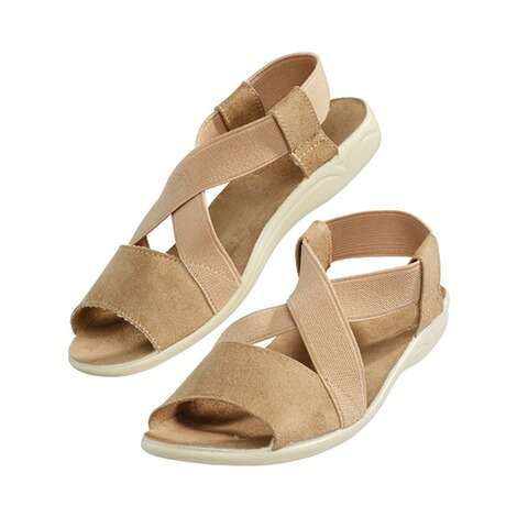 "Damen-Sandale ""Stretch Plus""  beige 2"