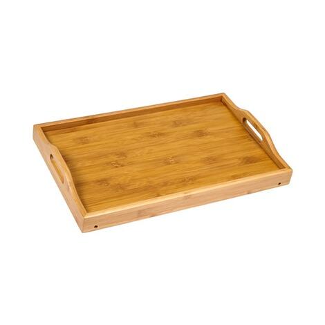 Küchenregal Bambus mit Serviertablett Online kaufen