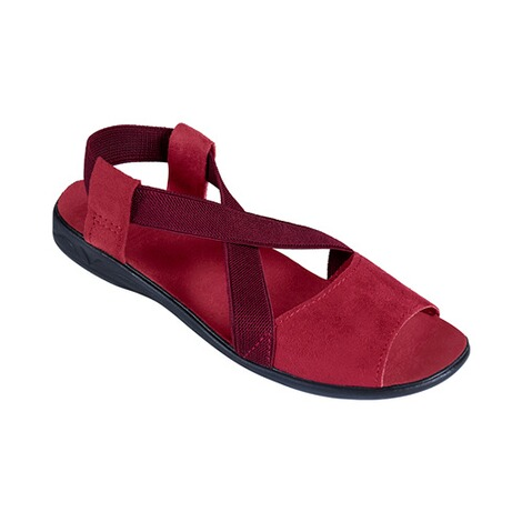 "Damen-Sandale ""Stretch Plus""  bordeaux 1"