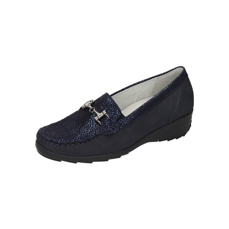 Damen Slipper blau