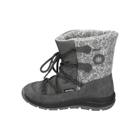 MANITUManitu Damen Snowboot Polartex  grau 2