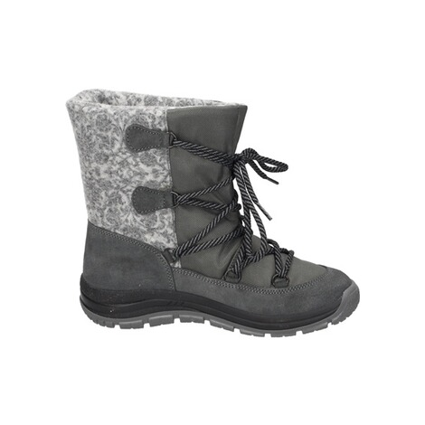 MANITUManitu Damen Snowboot Polartex  grau 4