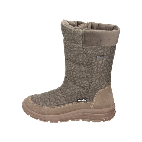 MANITUManitu Damen Snowboot Polartex  braun 2