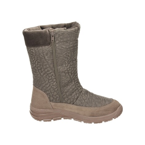 MANITUManitu Damen Snowboot Polartex  braun 4