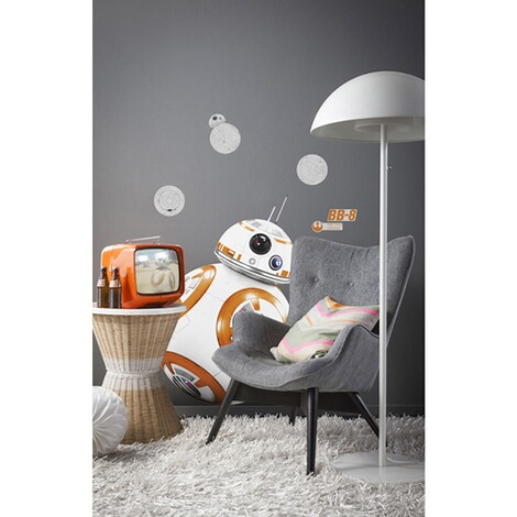 KOMARWandtattoo Star Wars BB-8 100x70 cm, 6-tlg. 1