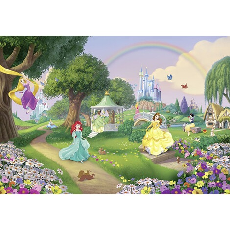 KOMARFototapete Disney Princess Rainbow 1