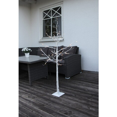 LED-Tobby Tree Birch, weiß  150 CM 2