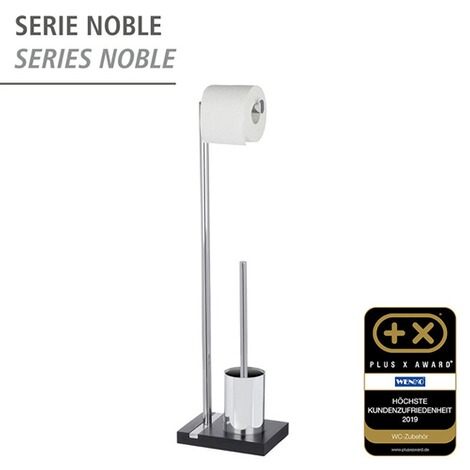 WENKOStand WC-Garnitur Noble Black 2
