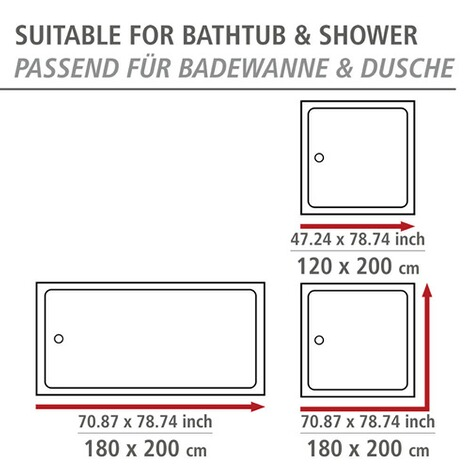 Duschvorhang Der Nicht Anzieht