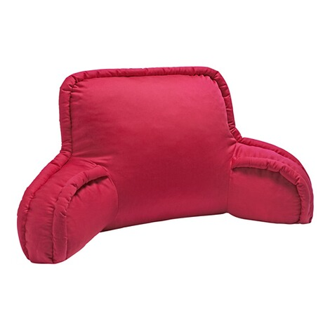 Coussin dossier  rouge 1