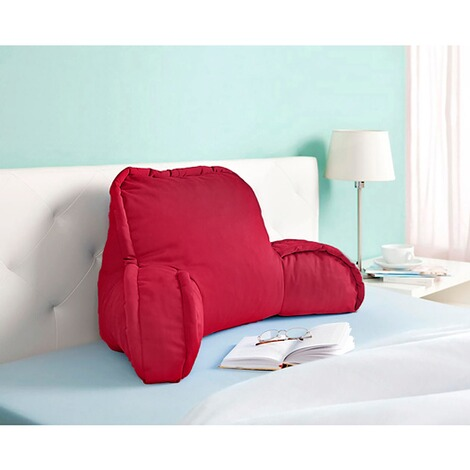 Coussin dossier  rouge 3