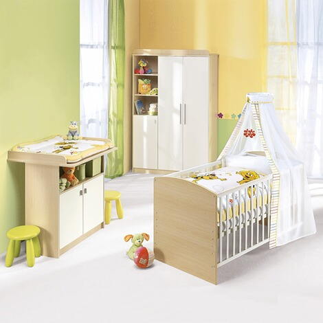 roba 3 tlg babyzimmer lena online kaufen baby walz. Black Bedroom Furniture Sets. Home Design Ideas