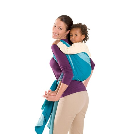AMAZONAS  Babytragetuch Carry Sling 450cm  türkis 3