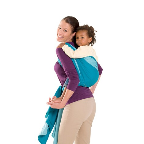 AMAZONAS TREND LINE Babytragetuch Carry Sling 510cm  petrol/türkis 3