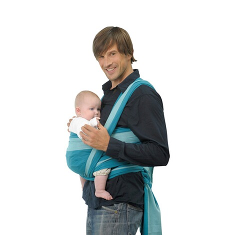 AMAZONAS  Babytragetuch Carry Sling 450cm  türkis 1