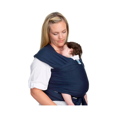 MOBY WRAP  Babytragetuch Moby Wrap Classic  navy 1