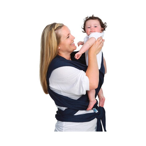 MOBY WRAP  Babytragetuch Moby Wrap Classic  navy 5