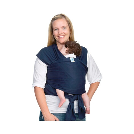 MOBY WRAP  Babytragetuch Moby Wrap Classic  navy 6