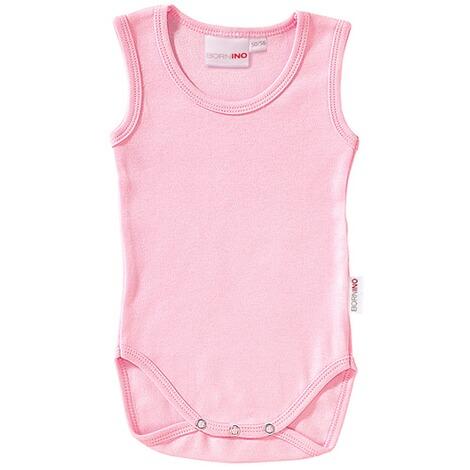 BORNINO BASICS Body ohne Arm  rosa 1