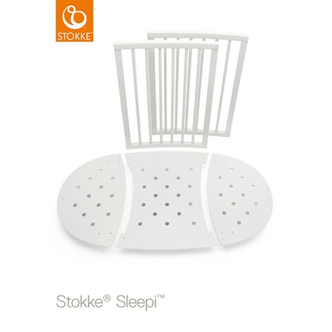 STOKKE® SLEEPI™ Sleepi Mini (0 - 6 Monate) mit Matratze 3