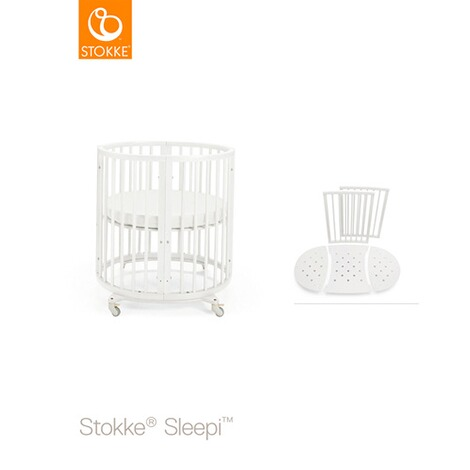 STOKKE® SLEEPI™ Sleepi Mini (0 - 6 Monate) mit Matratze 4
