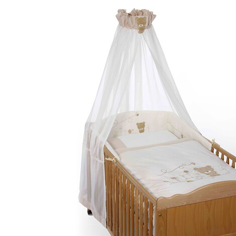 easy baby 4 tlg babybettausstattung honey bear online kaufen baby walz. Black Bedroom Furniture Sets. Home Design Ideas