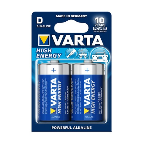 VARTA  Varta-Longlife-Power-batterijen, 2 stuks 1