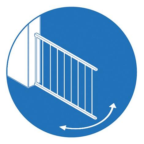 reer t r und treppenschutzgitter t gate special 73 106 cm. Black Bedroom Furniture Sets. Home Design Ideas