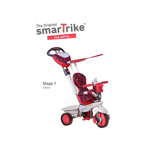 smarTrike  Dreirad Dream Touch Steering® 4-in-1  rot 2