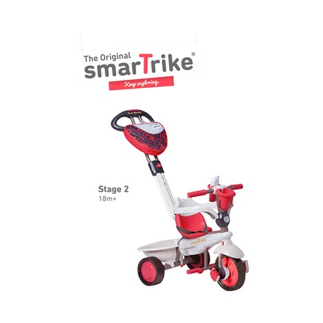 smarTrike  Dreirad Dream Touch Steering® 4-in-1  rot 3