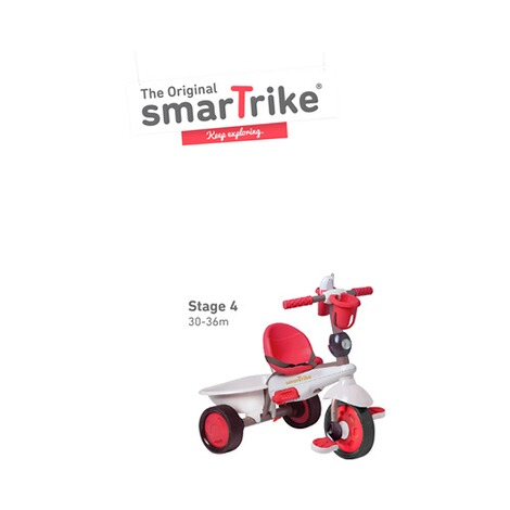 smarTrike  Dreirad Dream Touch Steering® 4-in-1  rot 4