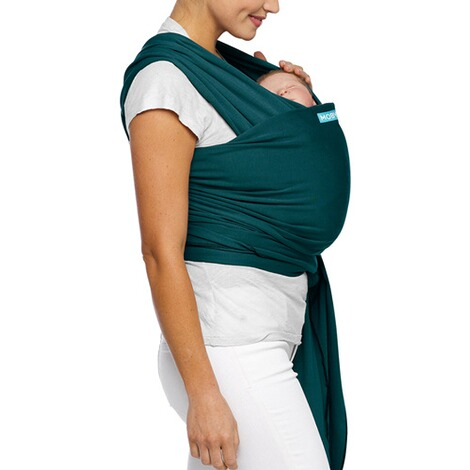 MOBY WRAP  Babytragetuch Moby Wrap Classic  pacific 5
