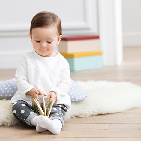 SOLINI  Baby's erstes Buch Tiere 4
