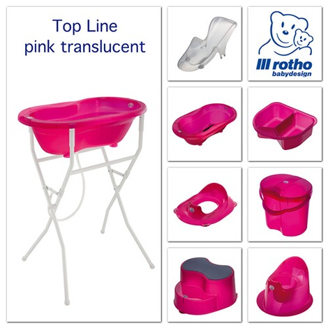 ROTHO BABYDESIGN  Le réducteur WC TOP  pink 2
