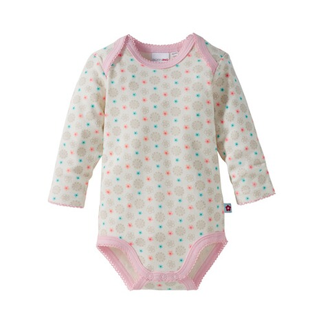 BORNINO BASICS 3er-Pack Bodys langarm 4