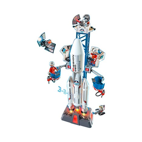 PLAYMOBIL® CITY ACTION 6195 Weltraumrakete mit Basisstation 2