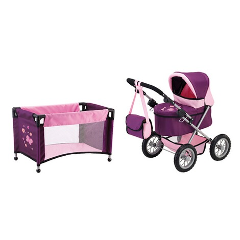 BAYER DESIGN  Puppenwagen Trendy Set 2