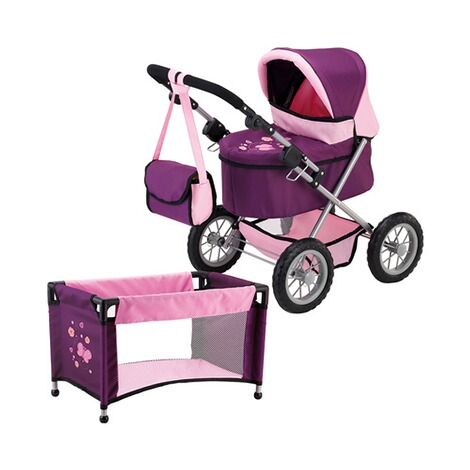 BAYER DESIGN  Puppenwagen Trendy Set 1