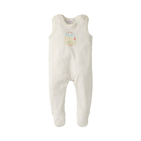 BORNINO BASICS Strampler mit Spruch eat sleep play kiss & cuddle 1
